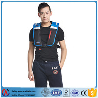 Inflatable Solas automatic personalize waist High Quality,Neoprene,Nylon,Elastic Pu,Lucra Pfd Life Jacket