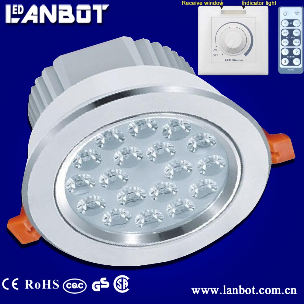 Super bright flush mounted led ceiling light, led recessed ceiling light/LED ceiling light