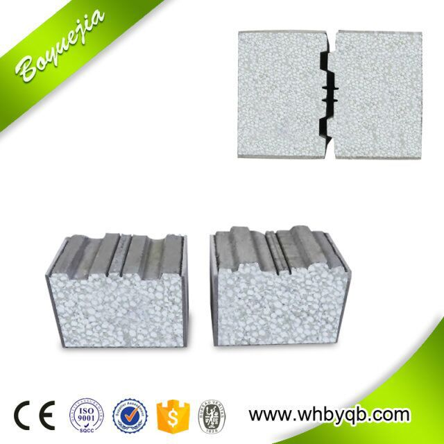 Building Materials Heat Isolation Exterior EPS Cement Wall Panel