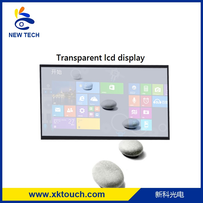 New innovative product Transparent Lcd Advertising Display for advertising