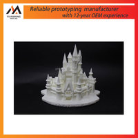 chinese model toy SLA/SLS 3D Print Rapid Prototype Customized service