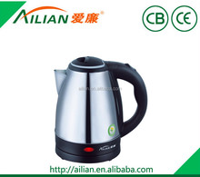 hot selling cheapest price home appliance 1.8 liter stainless steel electric 110V water kettle in electric kettles