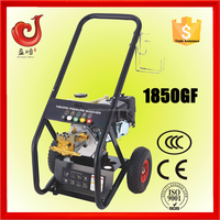 5.5HP 170bar gasoline drain cleaning water jet machine, industrial degreaser metal cleaner
