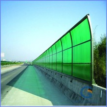 GoodLife excellent Bayer virgin material SGS certificate highway fence green polycarbonate PC sheet