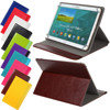 Universal Ultrathin PU Leather Book Flip Case Bag Cover Etui 12 10 8 7 6 inch Holder Stand Rotation Cover Shield Stock