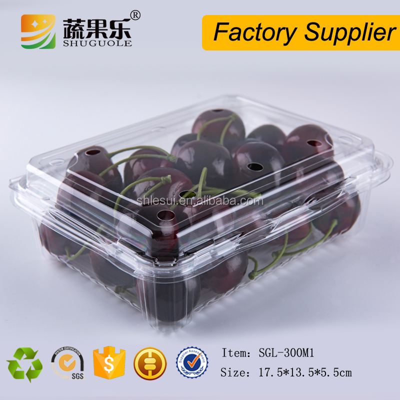 Plastic Material and vegetable or fruit Industrial Use Packaging Box