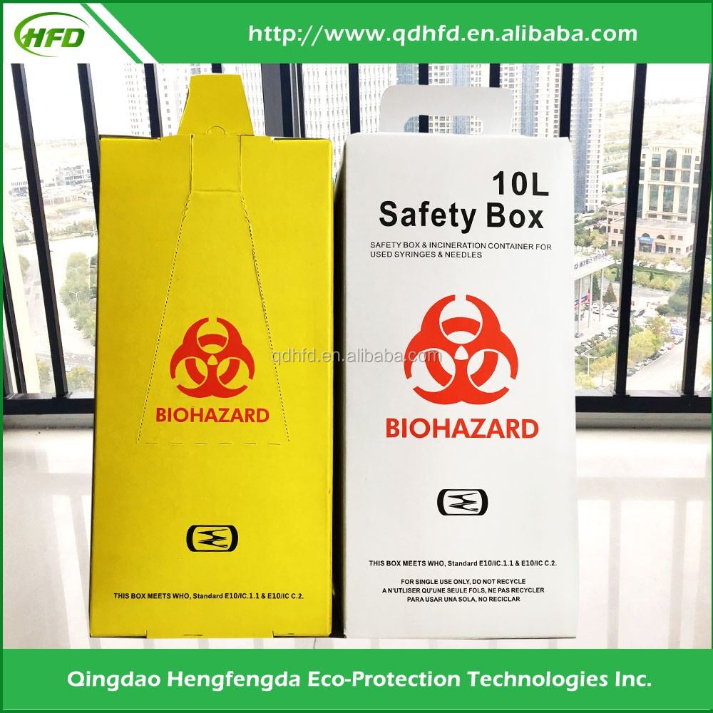 2017 Medical safety puncture resistance sharp container 5L