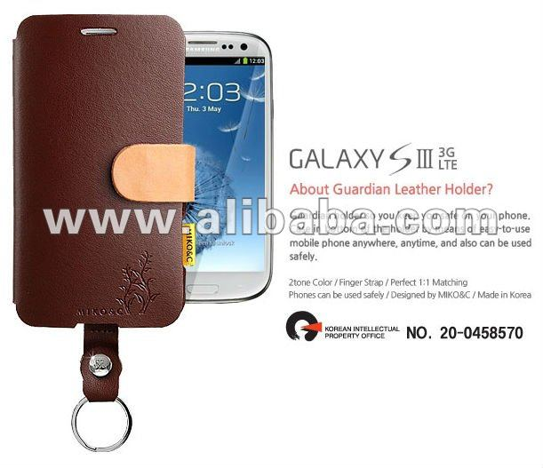 Guardian Leather evil Case for iphone 5, 4S, 4, Samsung Galaxy S3