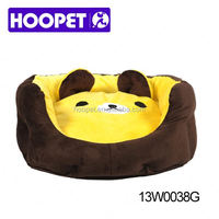 Cute bear fleece dog sofa bed dog indoor dog houses Supplier