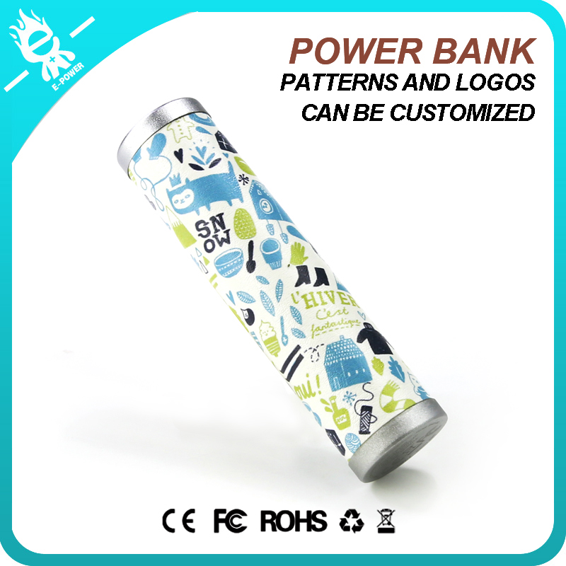 Made in China! hot selling External Battery Pack Charger powerbank 2600mah big perfume power bank