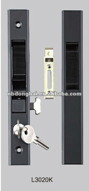 aluminium and zinc hardware sliding Windows lock for OEM