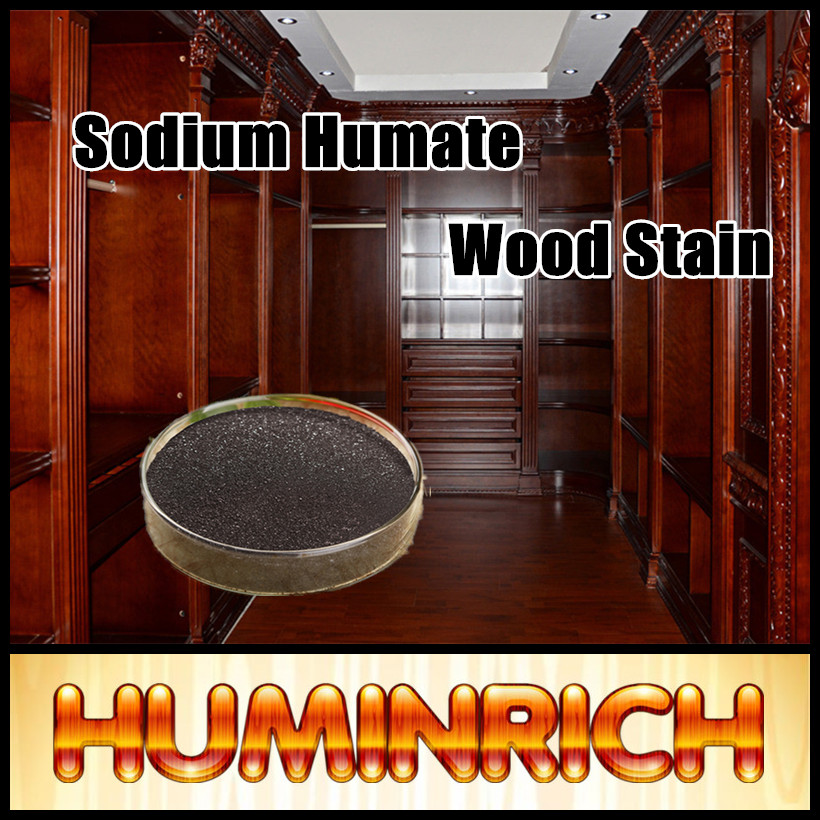 Huminrich SH9016-3 Sodium Humate Furniture Coloring Wood Stain Powder