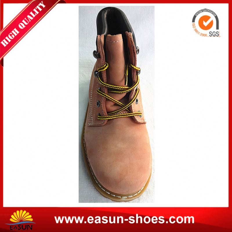 High Heel Steel Toe Safety Boots Men Safety Shoes from China Supplier