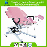 Hospital electric CE Approved cheap medical exam gynecological chair used