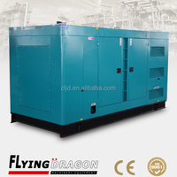 400kw silent canopy electric diesel generator set powered by 500kva UK imported engine price