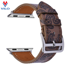 20mm 22mm Genuine Leather Watch Band Quick Release pin leather watch strap for Apple Watch