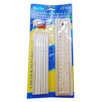 5170615 19 Office Stationery Ruler Set