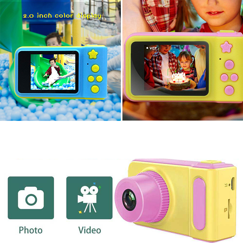Kids Camera Children Camera Mini Screen Children's Digital Camera Toys