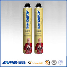 Eco-friendly Factory Direct Supply High Expansion Rate MSDS PU Adhesive Polyurethane Sealant