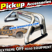 DOUBLE PIPE ROLL BAR FOR D-MAX 2003