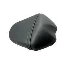 KC17MS19 Black Motorcycle Cushion Seat Leather Rear Passenger Cowl Cover New For Suzuki GSX-R1000 2009-2012