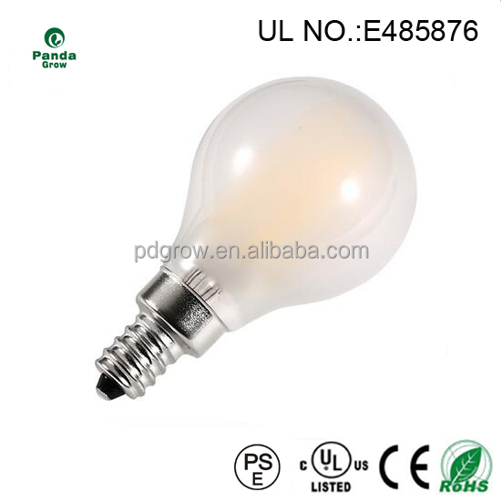 New products 2016 G45 led filament bulb ul 2W 4W E12 E26 led lighting dimmable all product alibaba express china