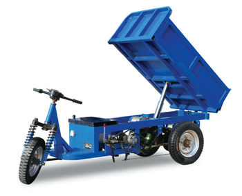 Electrical tricycle for fruit/Electro Three Wheel Motorcycle Power Driven Vehicle Hydraulic Dump Truck