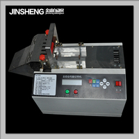 fully automatic pvc tube webbing ribbon anti slip tape cutting machine cutting equipment