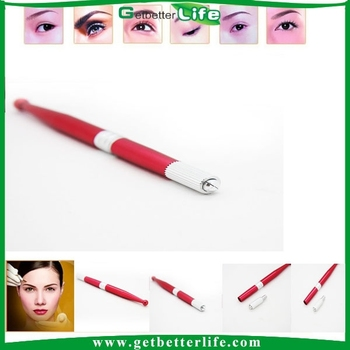 2015 getbetterlife permanent makeup manual pen/eyebrow manual permanent makeup pen/embroidery pen