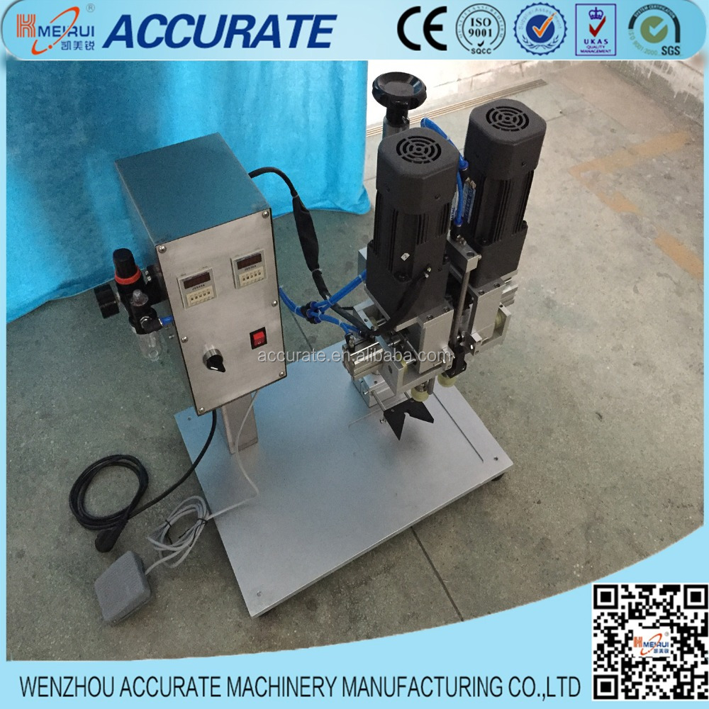 Semi-friction pneumatic pump cap press sealing machinery