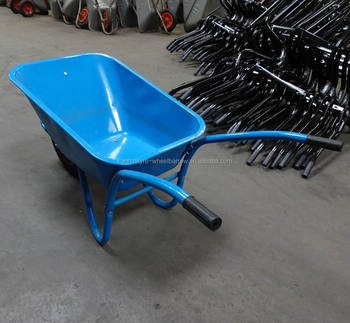 high quality competitive price blue color big tray WB5009 construction wheel barrows