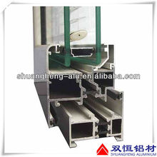 Sliding aluminum windows and doors drawing with competitive price
