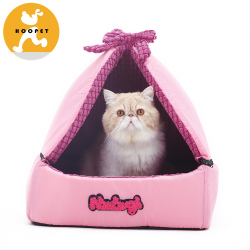 Pink Princess Royal Cat Cave Roof Removable Lovely Manufacturer Factory Direct Price Pet Dog Beds
