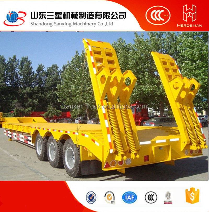 Best price low bed high quality and widely used truck and trailer dimensions