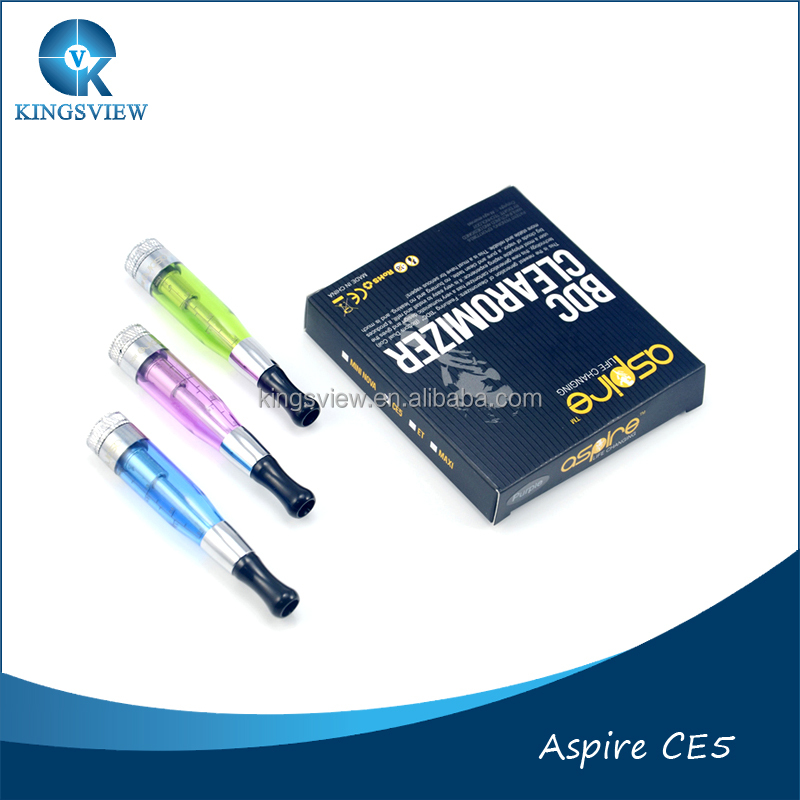 Stock Offer New Coming Original Aspire CE5 s BDC Clearomizer Dual Coil & CE5 bcc aspire ce5 bdc clearomizer all colors