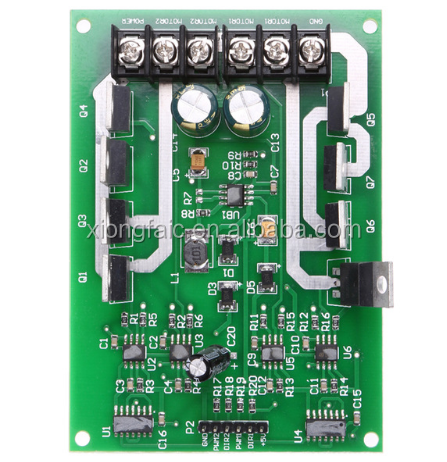 Dual Motor Driver Module Board H-bridge DC MOSFET IRF3205 3-36V 15A Peak30A motor power and battery life