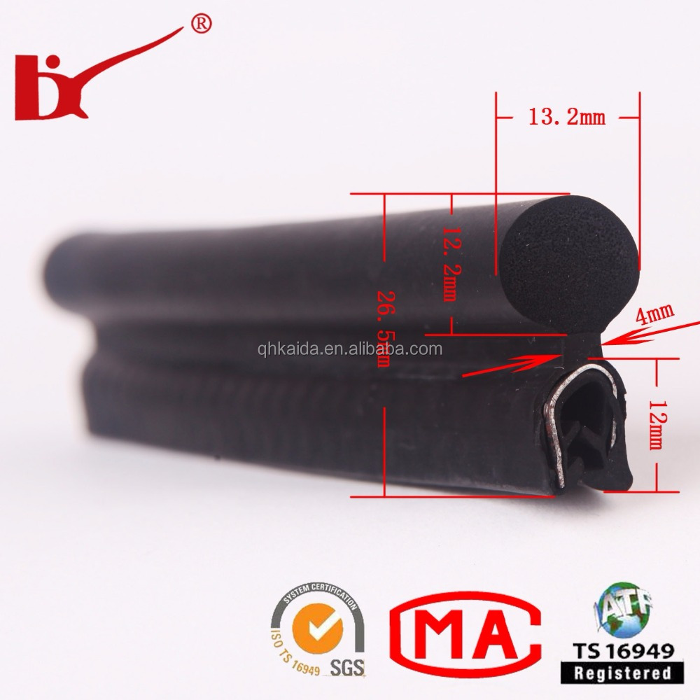 Reasonable price easy installation rubber weatherstripping