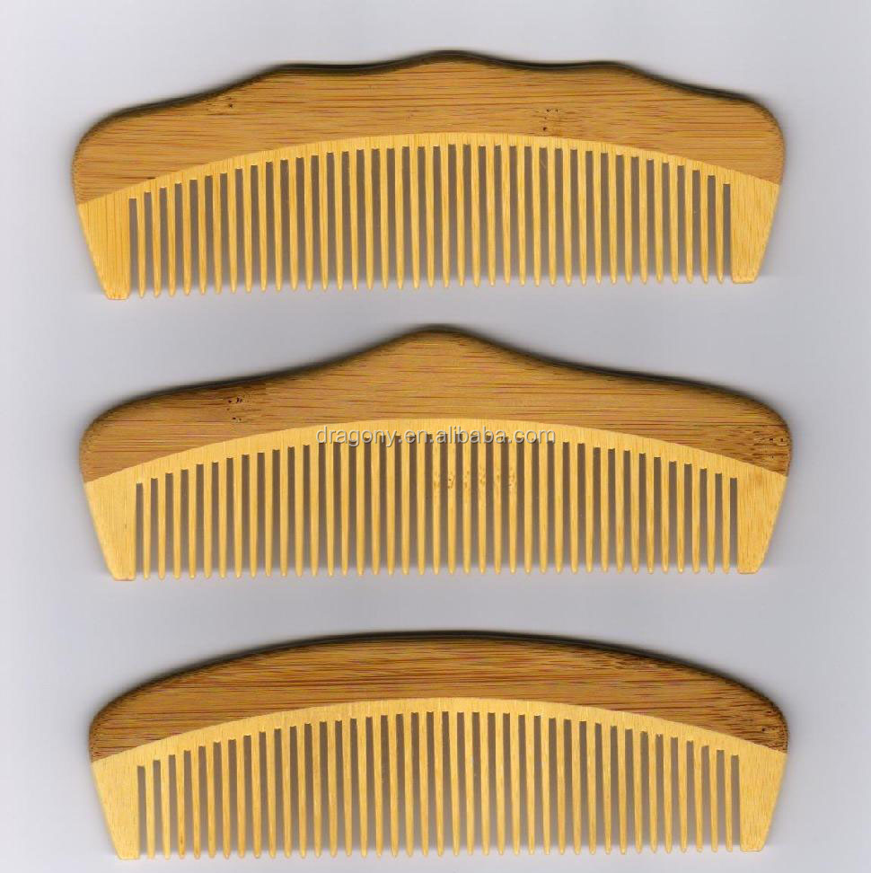 Bamboo Home Use Hair Beard Comb