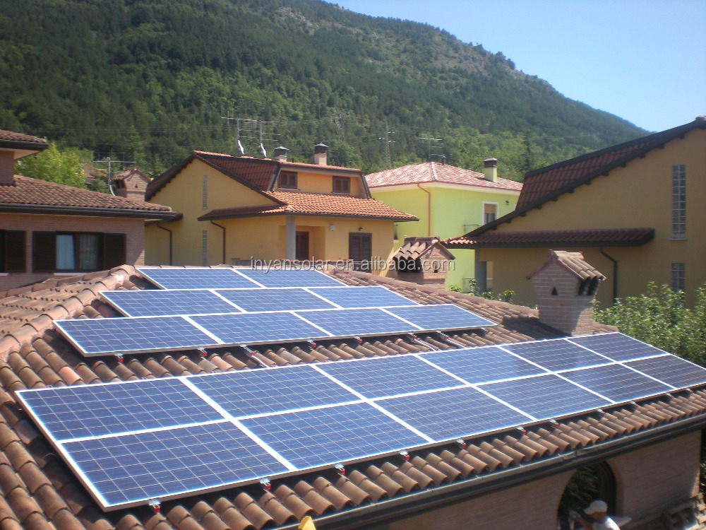 Distributed On-grid solar power system 1500W~5000W