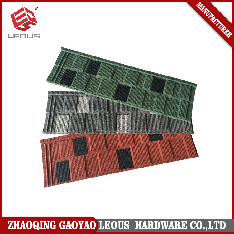 Roofing Material,Waterproof Colorful Stone Coated Metal Roofing
