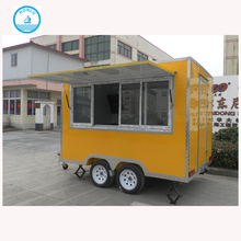China, Snack, BBQ, Donut, Vending, Booth mobile food vending trailers /food truck equipment/kiosk mall food with CE
