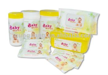 wet baby wipes---HOT!!!