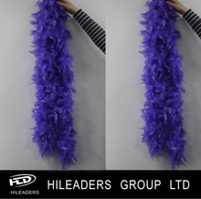 RT3226 Party Decorative Purple Turkey Chandelle Feather Boa