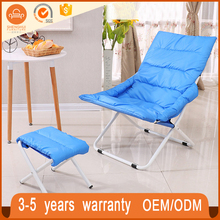 Hot Selling Easy Foldable Beach With Ottoman Foldable Easy Take Folding Camping Chair