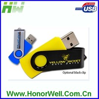 Metal Swivel USB Bulk 1GB Usb Flash Drives for Promotion Giveaway Gifts