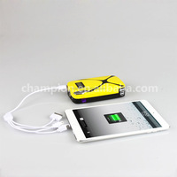 High quality portable car charger and mini jump start with LED flashlight