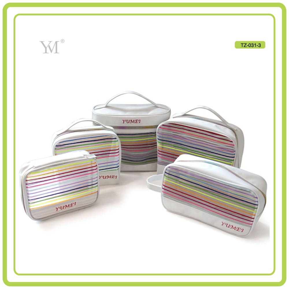 top quality brand new modella wholesale mesh plain cosmetic bags
