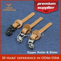 Leather bag metal parts and accessories bag zipper puller luggage zipper slider