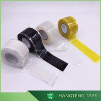 Telecom industry sealing strong self fusing silicone rubber tape