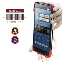 "7""rugged android industrial tablet pc RFID/NFC reader integrated 1D barcode scanner,wifi,gprs,3g for warehouse management"